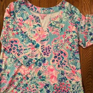 Lilly Pulitzer Tunic top - Large EUC